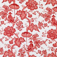 Pomegranate Floral Large Drapery and Upholstery Fabric by Duralee