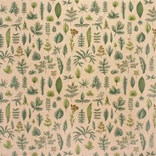 Stone Botanical Drapery and Upholstery Fabric by Lee Jofa