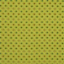 Celery Geometric Drapery and Upholstery Fabric by Lee Jofa