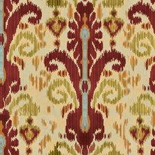 Cinnabar Ikat Drapery and Upholstery Fabric by Lee Jofa