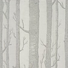 Dove Botanical Drapery and Upholstery Fabric by Lee Jofa