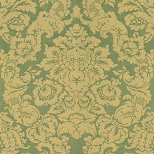 Sea Damask Drapery and Upholstery Fabric by Lee Jofa