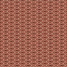 Claret/Red Modern Drapery and Upholstery Fabric by Lee Jofa