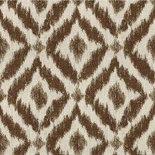 Ivory/Bark Diamond Drapery and Upholstery Fabric by Lee Jofa