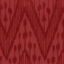 Red Ikat Drapery and Upholstery Fabric by Lee Jofa