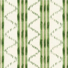 Green Ethnic Drapery and Upholstery Fabric by Lee Jofa