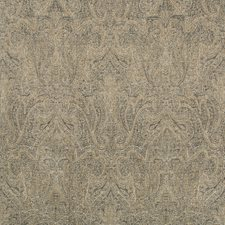 Mink/Ebony Paisley Drapery and Upholstery Fabric by Lee Jofa