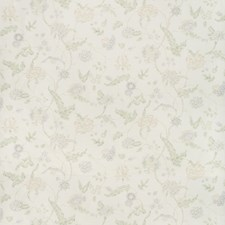 Lilac/Leaf Botanical Drapery and Upholstery Fabric by Lee Jofa