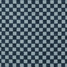 Marine Check Drapery and Upholstery Fabric by Lee Jofa