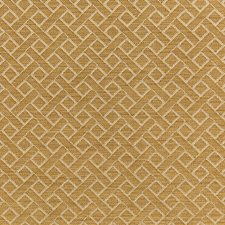 Gold Diamond Drapery and Upholstery Fabric by Lee Jofa