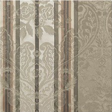 Beige/Green Imberlines Drapery and Upholstery Fabric by Kravet