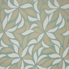 Aquamist Foliage Drapery and Upholstery Fabric by Greenhouse