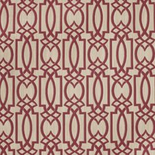 Berry Geometric Drapery and Upholstery Fabric by Fabricut