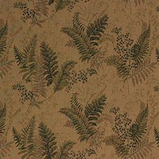 Beige/Green/Burgundy Botanical Drapery and Upholstery Fabric by Kravet