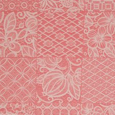 Coral Garden Asian Drapery and Upholstery Fabric by Fabricut
