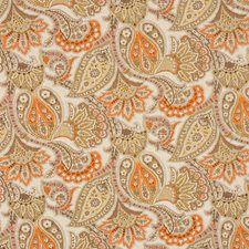 Apricot Drapery and Upholstery Fabric by RM Coco