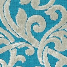 Turquoise Drapery and Upholstery Fabric by Robert Allen/Duralee