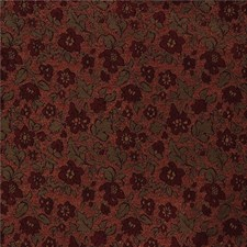 Green/Burgundy/Red Crypton Drapery and Upholstery Fabric by Kravet