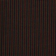 Blue/Yellow/Burgundy Texture Drapery and Upholstery Fabric by Kravet
