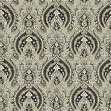 Ash Paisley Drapery and Upholstery Fabric by Trend