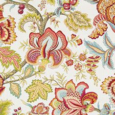 Coral Drapery and Upholstery Fabric by Robert Allen/Duralee