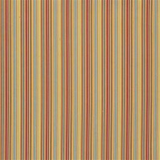 Crimson/Teal Stripes Drapery and Upholstery Fabric by Lee Jofa