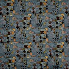 Tidepool Geometric Drapery and Upholstery Fabric by Fabricut
