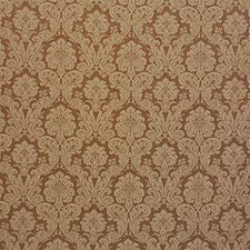 Brown/Beige Damask Drapery and Upholstery Fabric by Kravet