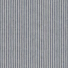 Blue/White Stripes Drapery and Upholstery Fabric by Kravet