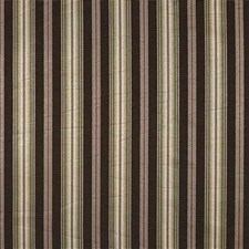 Brown/Yellow/Green Stripes Drapery and Upholstery Fabric by Kravet
