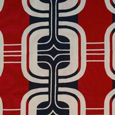 Red/black Drapery and Upholstery Fabric by Duralee