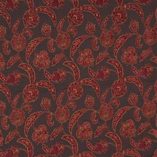 Brown/Rust Damask Drapery and Upholstery Fabric by Kravet