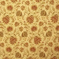 Coral Botanical Drapery and Upholstery Fabric by Kravet