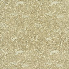 Gray Beige Drapery and Upholstery Fabric by Schumacher