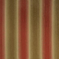 Red Clay Geometric Drapery and Upholstery Fabric by Fabricut