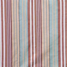 Brown/Light Blue/Beige Stripes Drapery and Upholstery Fabric by Kravet