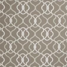 Smoke Embroidery Drapery and Upholstery Fabric by Fabricut
