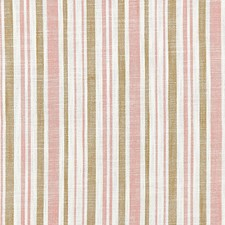 Pink Sand CHATHAM STRIPES Drapery and Upholstery Fabric by Scalamandre