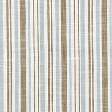 Bluestone CHATHAM STRIPES Drapery and Upholstery Fabric by Scalamandre