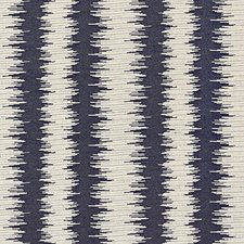 Indigo Jacquard Drapery and Upholstery Fabric by Scalamandre