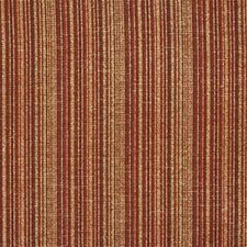 Red Onyx Stripes Drapery and Upholstery Fabric by Kravet