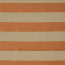 Orange Stripes Drapery and Upholstery Fabric by Kravet