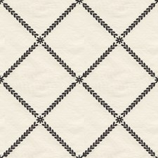 Beige/Black Diamond Drapery and Upholstery Fabric by Kravet
