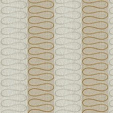 Bronze Shimmer Embroidery Drapery and Upholstery Fabric by Stroheim