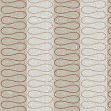 Guava Embroidery Drapery and Upholstery Fabric by Stroheim