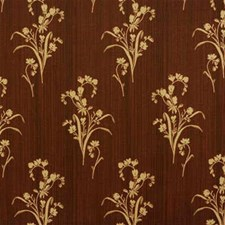 Yellow/Rust Botanical Drapery and Upholstery Fabric by Kravet