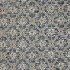 Cerulean Damask Drapery and Upholstery Fabric by Kravet