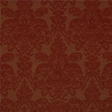 Burgundy/Red Damask Drapery and Upholstery Fabric by Kravet