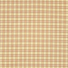 Beige/Pink Plaid Drapery and Upholstery Fabric by Kravet