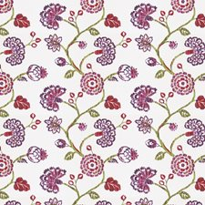 Berry Floral Drapery and Upholstery Fabric by Fabricut